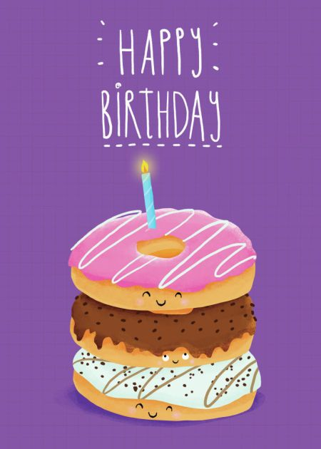 Happy Birthday Linda Louise!  I hope you have a blessed day and may blessings pour upon you Always!. xox  (Angelika Scudamore - Donuts)