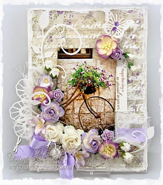 Cards made by Chantal: Hope this day is as special as you are