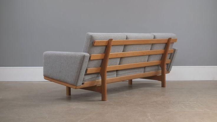 Hans Wegner GE236/3 Sofa | The Modern Warehouse