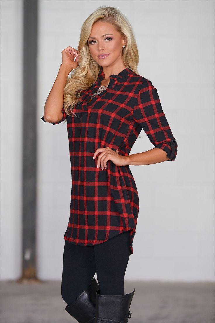 amazon red dress shirt