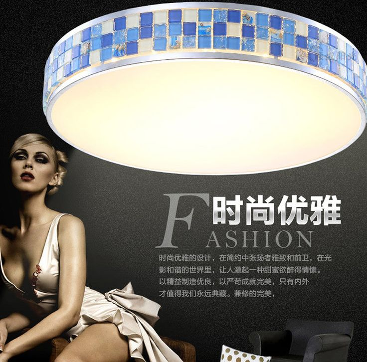 2016 New Led Bulbs Hot Ceiling Light AC 220V Crystal Stainless Steel Mediterranean Sea White Plated Surface Mounted Led Lamp * Check out this great product.