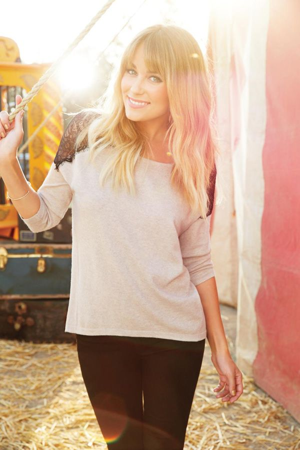 fall style {simple sweater & leggings}: Lc Lauren Conrad, Fall Style, Hair Cut, Laurenconrad, Cute Hair, Hair Style, Simple Sweaters, Lauren Conrad Clothing, Kohls Collection