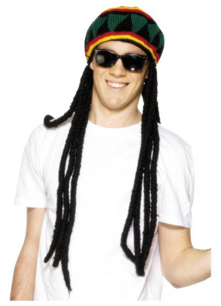 Let's Party With Balloons - Rasta Dreadlocks and Hat, $30.00 (http://www.letspartywithballoons.com.au/rasta-dreadlocks-and-hat/)