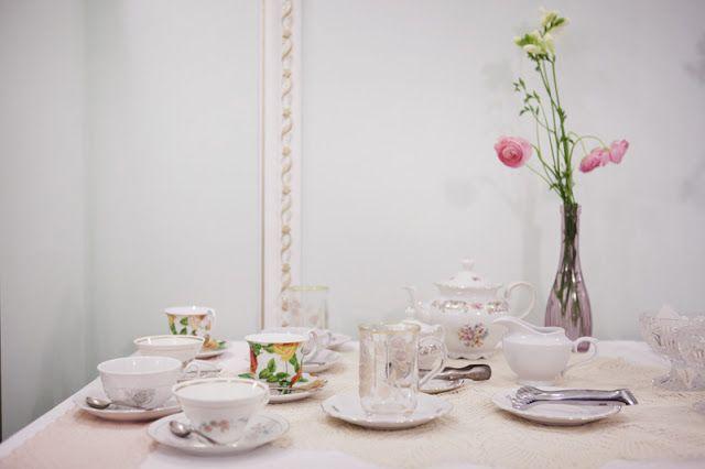 Reportage Vintage Tea Party - EnneFoto