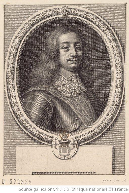 Portrait de Jean d'Allamont (1626-1657)
