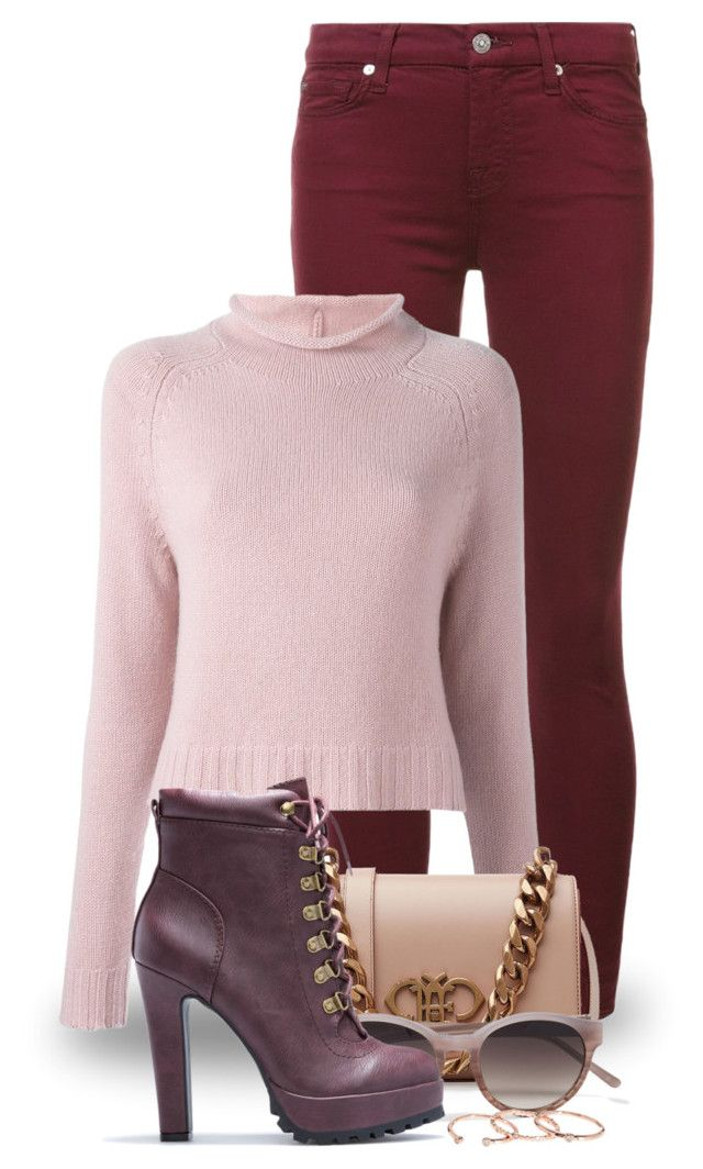 """""""Ankle Booties (outfit only) 2243"""" by boxthoughts ❤ liked on Polyvore featuring 7 For All Mankind, Ralph Lauren, Emilio Pucci, 3.1 Phillip Lim and Gorjana"""