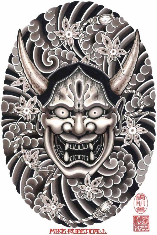 143 best images about hannya mask design tattoo on pinterest nirvana tattoo hannya mask. Black Bedroom Furniture Sets. Home Design Ideas
