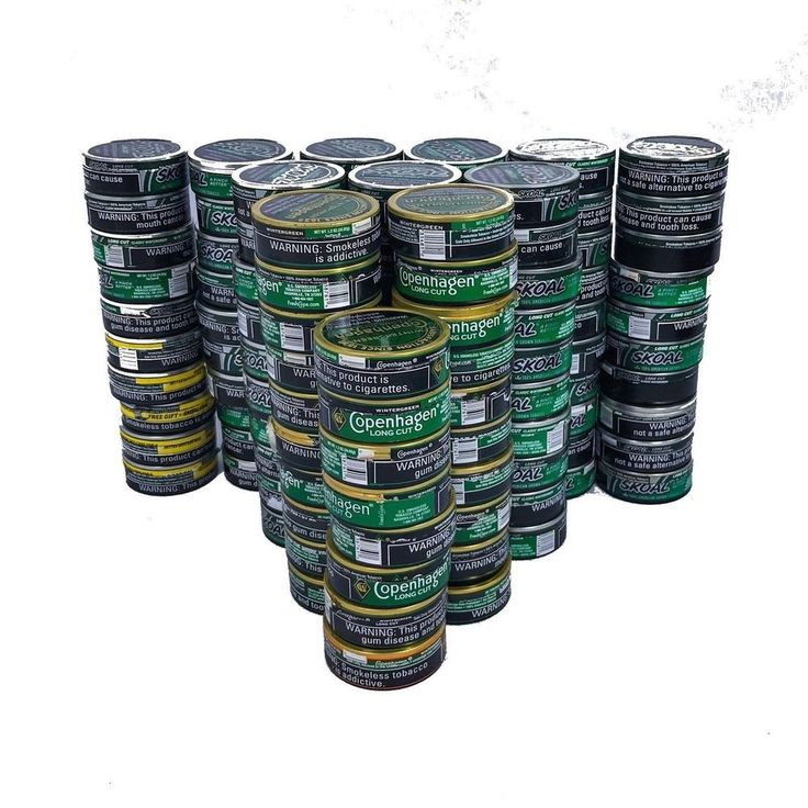 Skoal Copenhagen Empty Chewing Tobacco Cans Lot 118 Fishing Tools Arts Crafts #Copenhagen