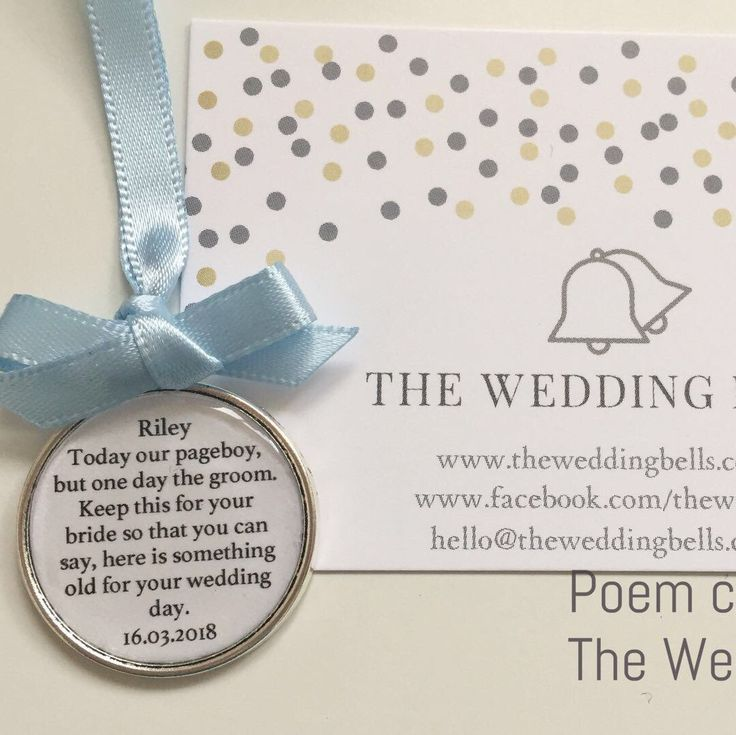 We've had a busy week with page boy charm Orders. They do make the ideal little gift and come in a lovely presentation bag #wedding #bridetobe #pageboy #usher #ringbearer