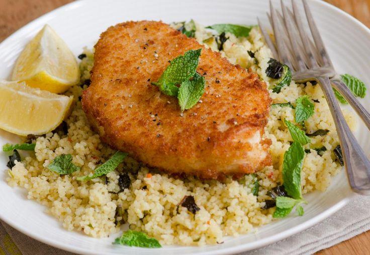 Zonder frituurvet gebakken visfilet Recept -