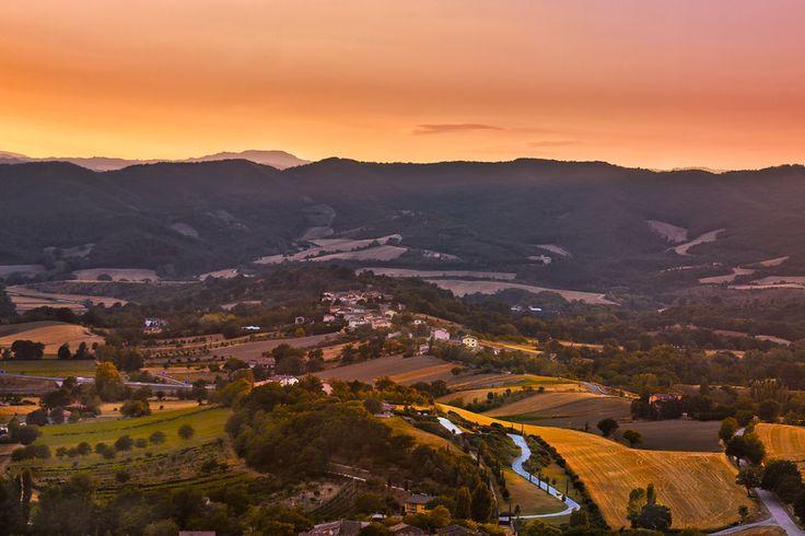 View from Fossato di Vico - Perugia (Italy)