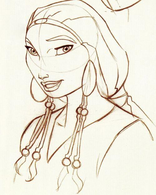 Tzipporah RODOLPHE GUENODEN Dreamworks Animator Prince Of Egypt