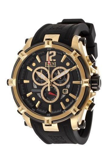 Elini Barokas Men's Fortitudo Chronograph Watch