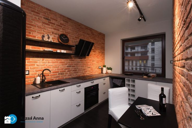 Kuchnia styl Skandynawski - zdjęcie od Anna Krzak architektura wnętrz
