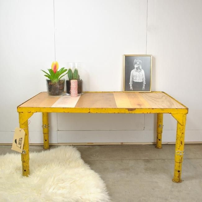 17 Best images about Leuke tafels on Pinterest  Industrial, Side tables and  # Wasbak Vintage_175721