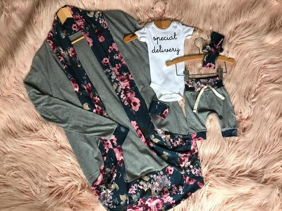 Boho Floral Spring Girl Outfit Flower Hospital Coming Home Outfit Hello Beautiful Floral Baby Girl 4 Piece Outfit Set Summer Girl Outfit