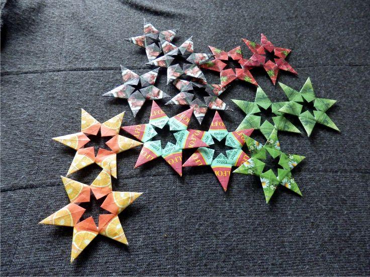 Teekanne - hvězdičky