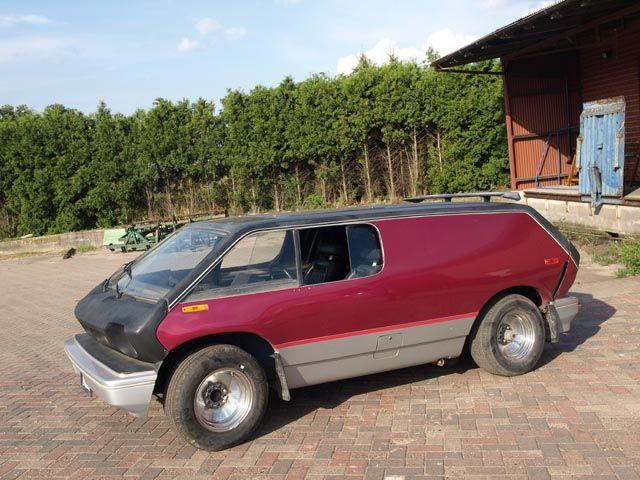vw brubaker box mini van concept based  vw beetle chassis   seventies