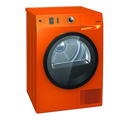 Gorenje D 85F66 NO Kondenstrockner FL / A+++ / 8 kg / Orange / W�rmepumpentechnologie / IonTech-Ionensystem / Knitterschutz / Colour Collection