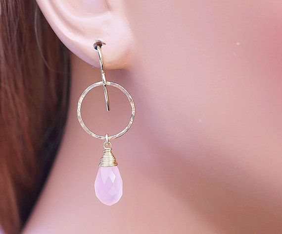 As Seen On Jane the Virgin Chalcedony Earring by AdmirableJewels