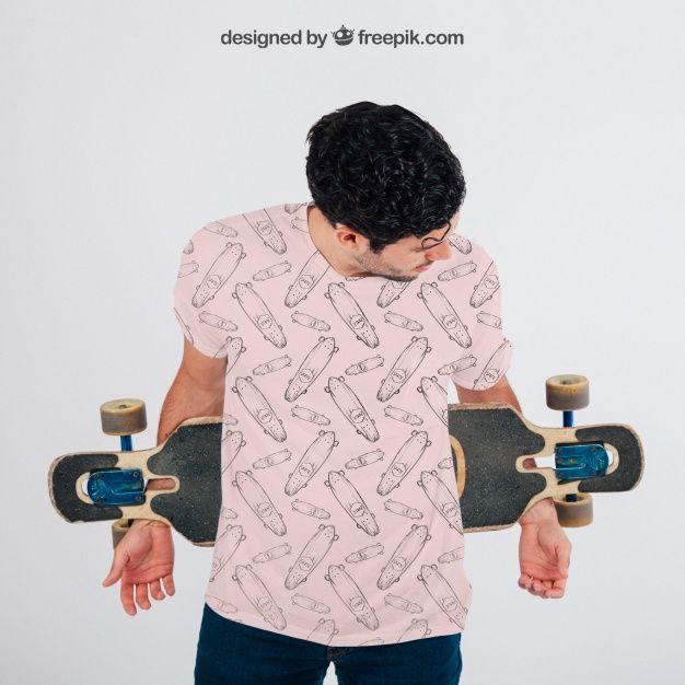 Download T Shirt Mockup Free Psd File Shirt Mockup Skateboard Shirts Tshirt Mockup
