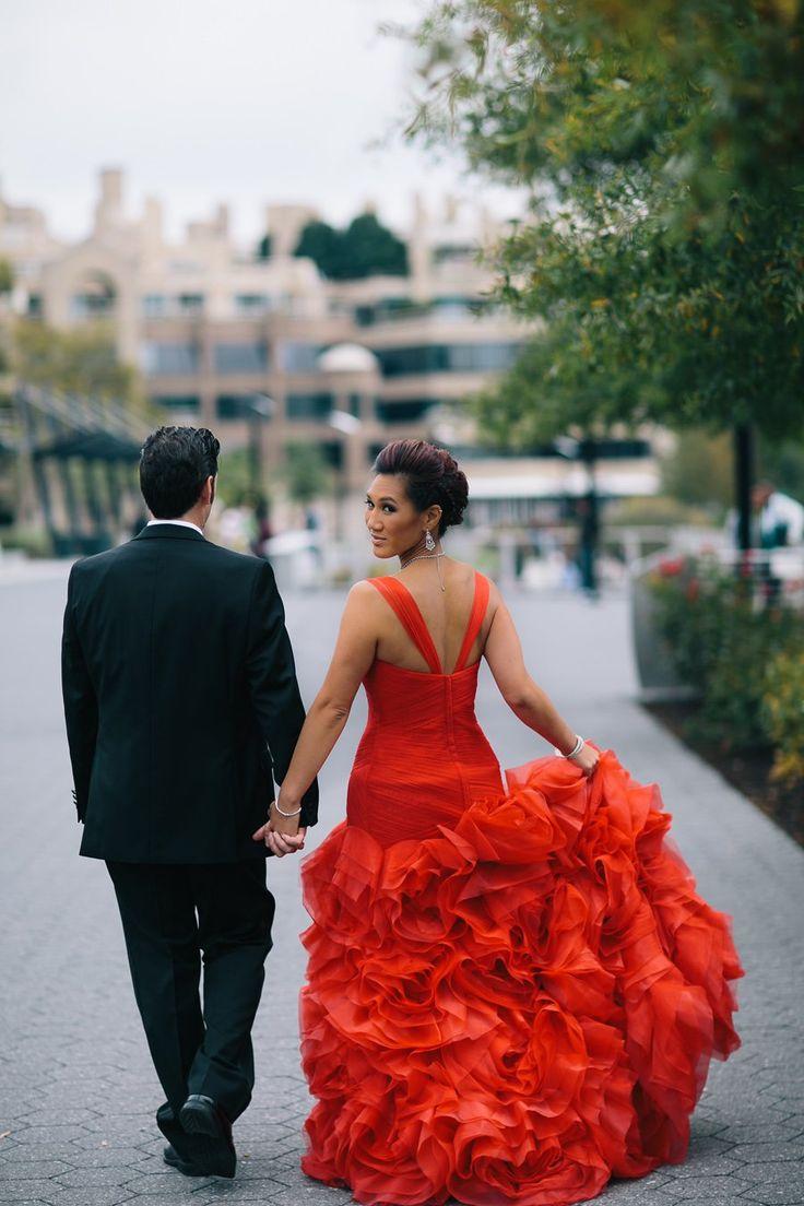90 best beautiful bridal artistry brides images on pinterest dc mai lan bill bold clarendon ballroom wedding with red wedding dress washington dc ombrellifo Choice Image
