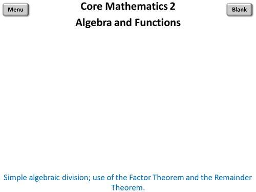 Core Mathematics 2 PowerPoint