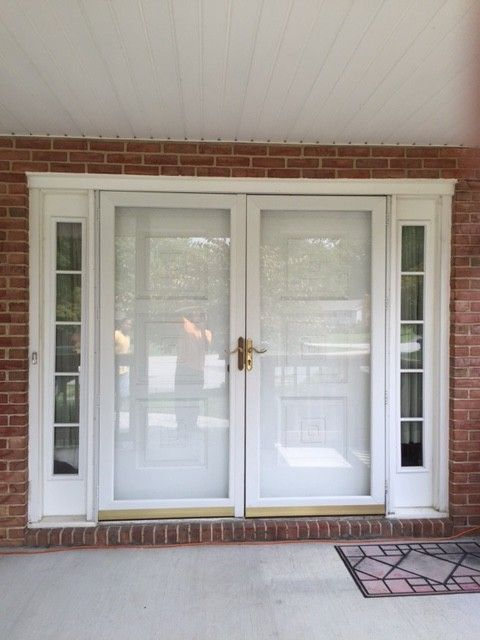 Best 25 Storm Doors Ideas On Pinterest Custom Screen