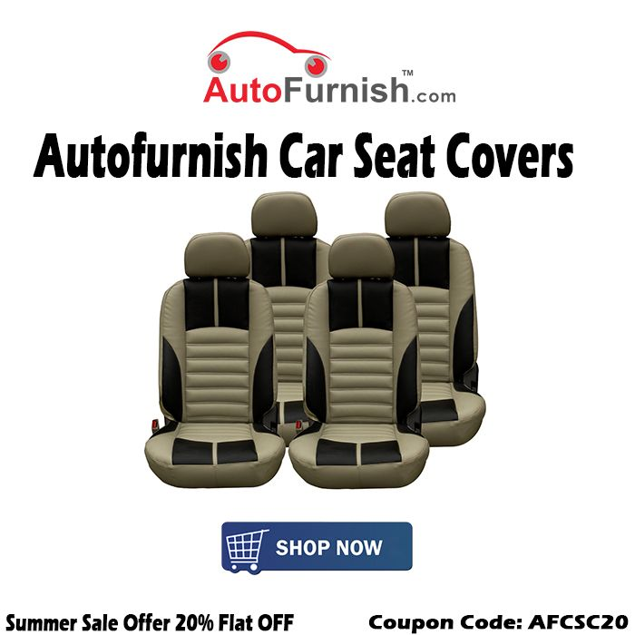 20 OFF On Autofurnish CarSeatCovers Buy Now Coupon Code AFCSC20 Shop Car Seat Covers OnlineShop