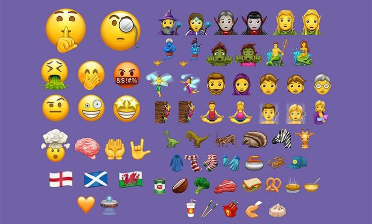 Unicode 10.0 arrives with 56 new emoji characters, likely to see iOS integration soon