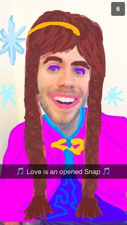 This Guy Is Making Amazing Disney Snapchats