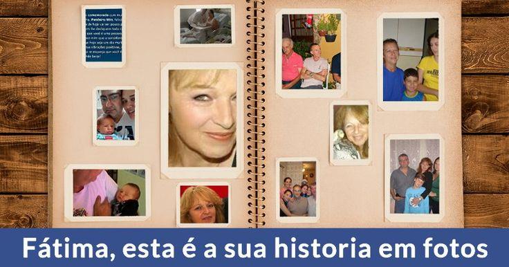 Suas fotos em um álbum! Conte a sua história de vida para os seus amigos!