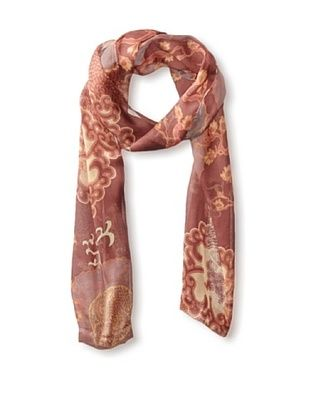 63% OFF Hale Bob Women's Flowering Tree Scarf, Ruby