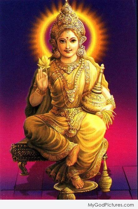 Mata Lakshmi Ji - God Pictures