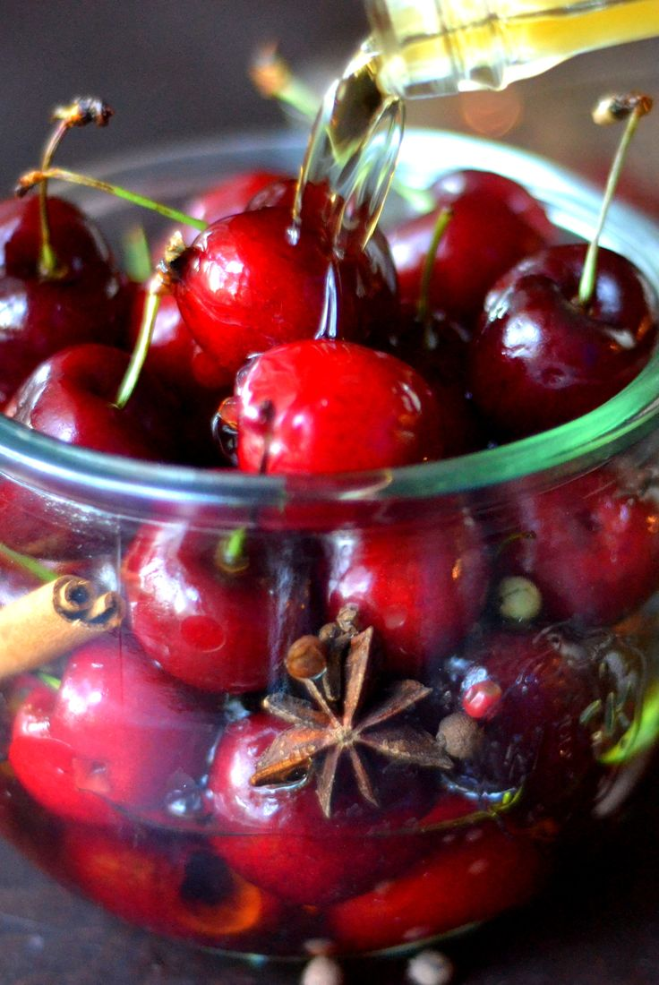~DIY Cocktail Cherries ~ These cherries make great gifts!