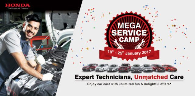 Honda's Mega Service Camp: 19 - 25 January , Car News - K4car.com