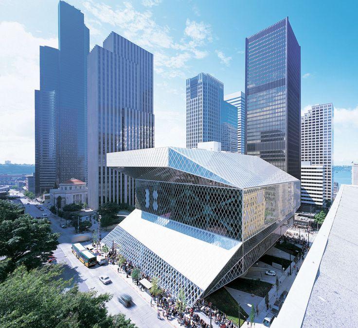 Biblioteca Central de Seattle / OMA + LMN