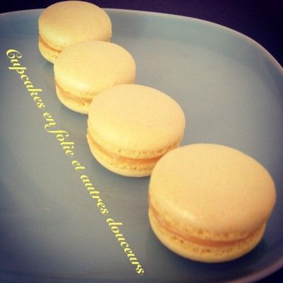 Macarons Lemon Curd