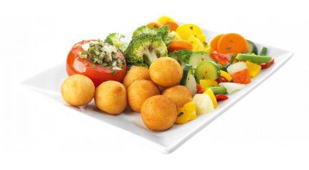 Légumes chauds buffet à volonté