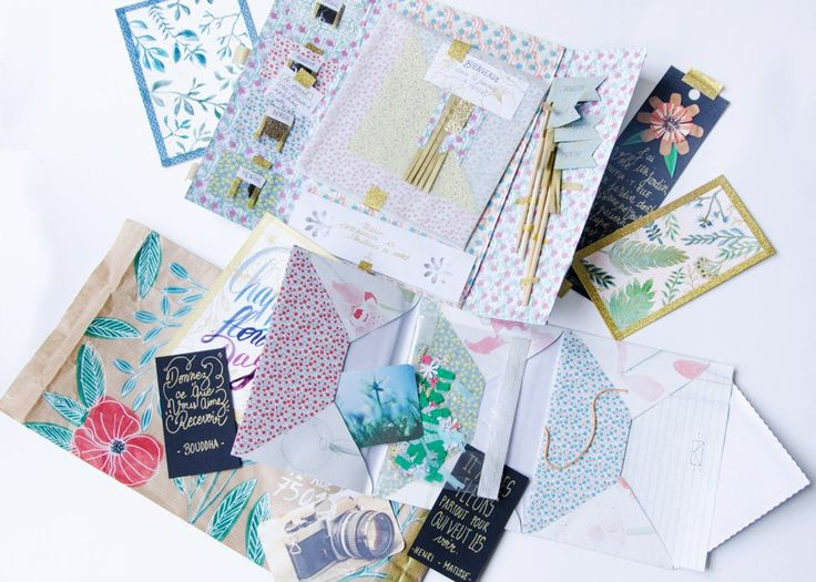 Happy Mail (2/2) - Le courrier créatif de Maeva - Tribulations de Marie