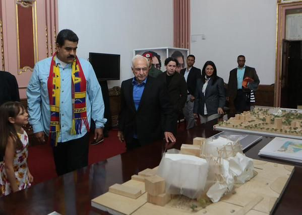 Frank Gehry Presents Design for Venezuelan Music Center