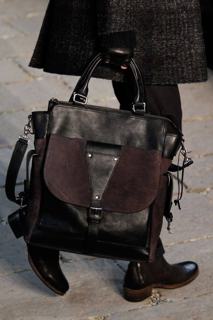 John Varvatos Fall 2012 Menswear Bag, sexy!