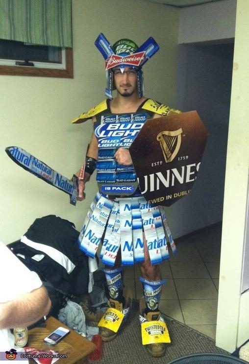 Beer Gladiator - 2012 Halloween Costume Contest
