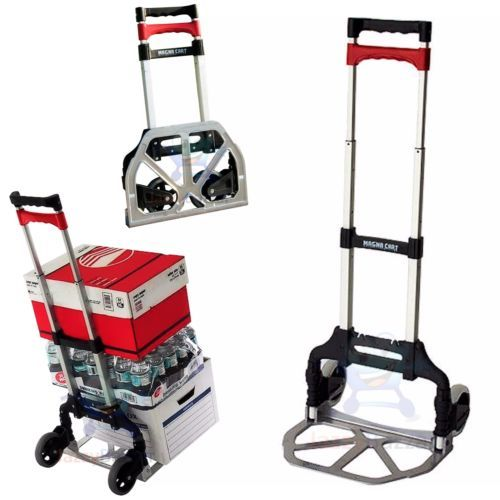 Magna-Cart-Compact-Folding-Aluminium-Hand-Truck-Trolley-Luggage-Cart-Foldable