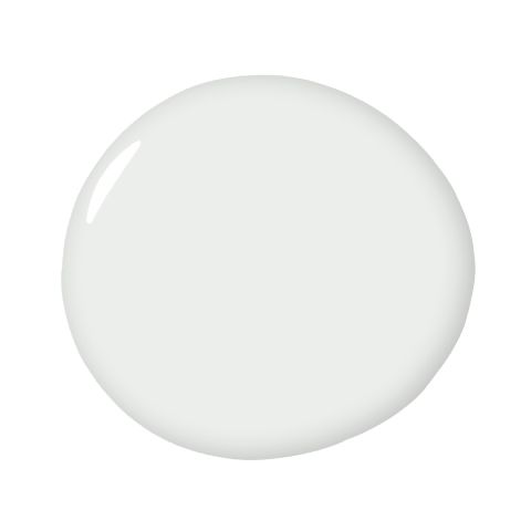Decorator's White - Benjamin Moore - a pure white, good for the ceiling