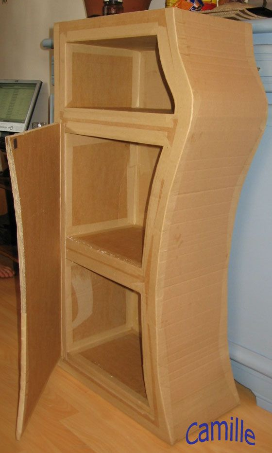 Cardboard furniture plans pdf woodworking projects plans for Placard de cuisine
