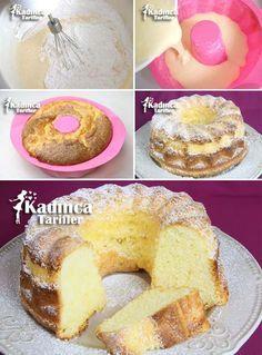 Nişastalı Pamuk Kek Tarifi İçin Malzemeler: 4 adet yumurta, 1 su bardağı toz şeker, 1 su bardağı sıvı yağ, 2 su bardağı nişasta (kullanılan su bardağı ölçüsü: 200 ml.), 1 paket vanilya (5 gram), 1 paket kabartma tozu (10 gram). Üzeri için; pudra şekeri.
