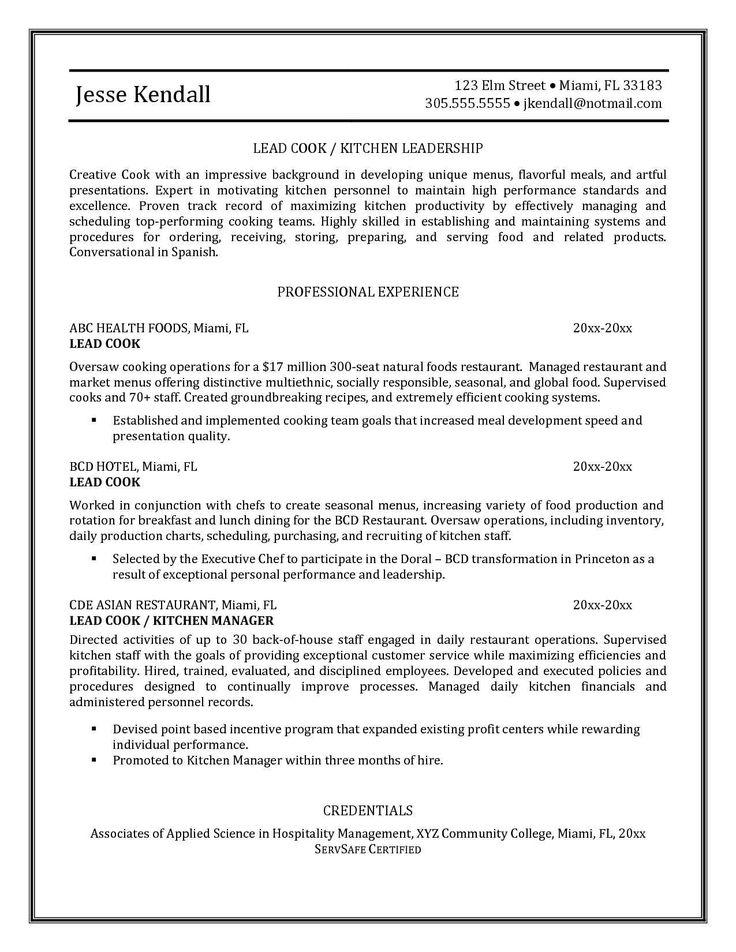 sample chef resume cover letter executive samples and head ejemplo carta de - Ejemplo De Cover Letter
