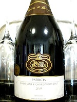 """The Australian Wine Journal's Chris Plummer described the Brown Brothers Pinot Noir & Chardonnay Brut 2005 as """"top shelf Aussie fizz and it's in top form, right now."""""""