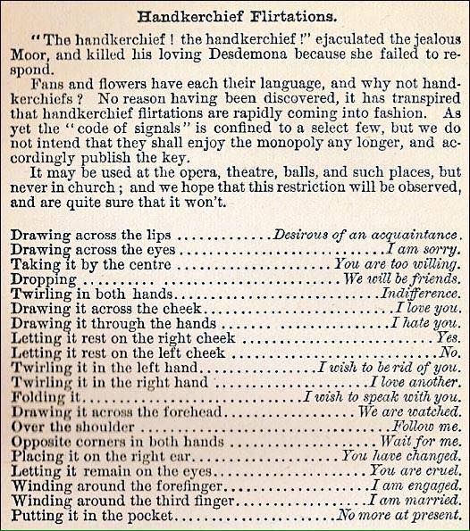 victorian dating rules